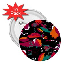 Colorful abstract art  2.25  Buttons (10 pack)