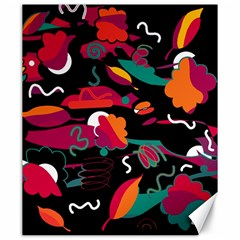 Colorful abstract art  Canvas 20  x 24