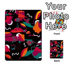 Colorful abstract art  Multi-purpose Cards (Rectangle)