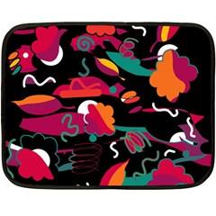 Colorful abstract art  Fleece Blanket (Mini)