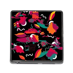 Colorful abstract art  Memory Card Reader (Square)