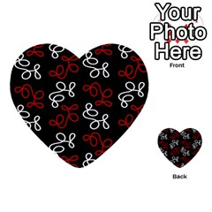 Elegance - red  Multi-purpose Cards (Heart)