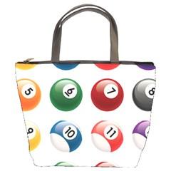 Billiards Bucket Bags