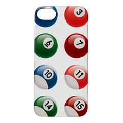 Billiards Apple iPhone 5S/ SE Hardshell Case