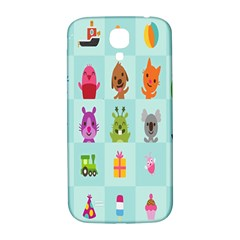 Animals Monster Music Samsung Galaxy S4 I9500/i9505  Hardshell Back Case