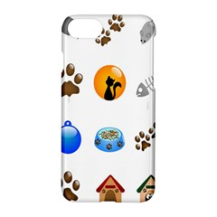 Cat Mouse Dog Apple Iphone 7 Hardshell Case