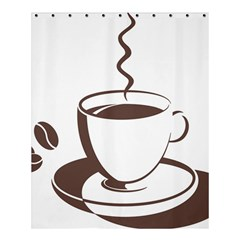 Coffee Beans Shower Curtain 60  X 72  (medium)