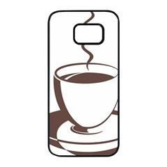 Coffee Beans Samsung Galaxy S7 Edge Black Seamless Case