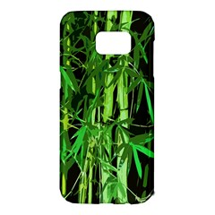 Bamboo Pattern Tree Samsung Galaxy S7 Edge Hardshell Case
