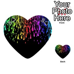 Color Rainbow Playing Cards 54 (heart)
