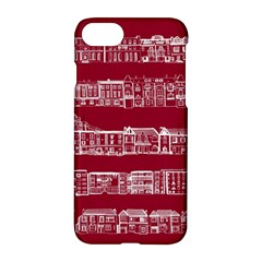 City Building Red Apple Iphone 7 Hardshell Case
