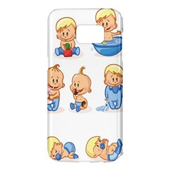 Cute Baby Picture Funny Samsung Galaxy S7 Edge Hardshell Case
