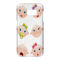 Cute Baby Picture Samsung Galaxy S7 Hardshell Case