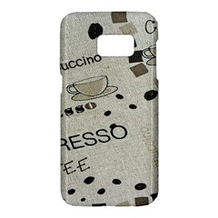 Coffe Cup Samsung Galaxy S7 Hardshell Case