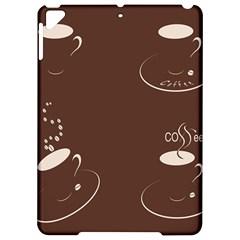 Four Coffee Cups Apple iPad Pro 9.7   Hardshell Case
