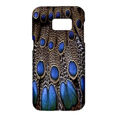 Feathers Peacock Light Samsung Galaxy S7 Hardshell Case