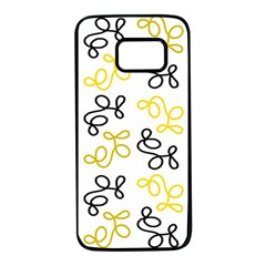 Yellow Elegance Samsung Galaxy S7 Black Seamless Case