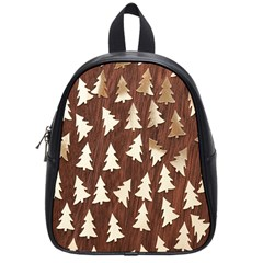 Gold Tree Background School Bags (small)