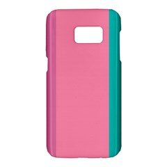 Pink Blue Three Color Samsung Galaxy S7 Hardshell Case