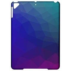Polyart Dark Blue Purple Pattern Apple iPad Pro 9.7   Hardshell Case