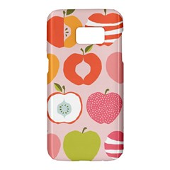 Pink Delicious Organic Canvas Samsung Galaxy S7 Hardshell Case