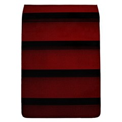 Line Red Black Flap Covers (s)