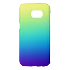Purple Blue Green Samsung Galaxy S7 Edge Hardshell Case