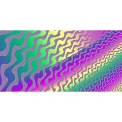 Line Colour Wiggles You Are Invited 3d Greeting Card (8x4)