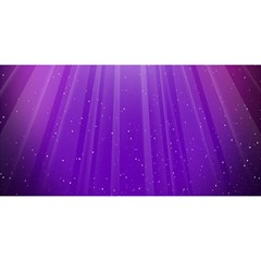 Purple Colors Fullcolor You Are Invited 3d Greeting Card (8x4)