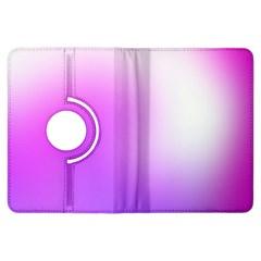 Purple White Background Bright Spots Kindle Fire Hdx Flip 360 Case