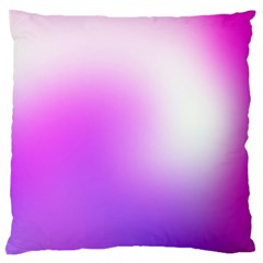Purple White Background Bright Spots Large Flano Cushion Case (one Side)