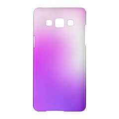 Purple White Background Bright Spots Samsung Galaxy A5 Hardshell Case
