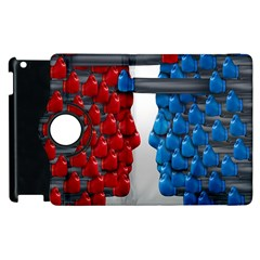 Red Boxing Gloves And A Competing Apple iPad 2 Flip 360 Case