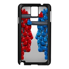 Red Boxing Gloves And A Competing Samsung Galaxy Note 3 N9005 Case (black)