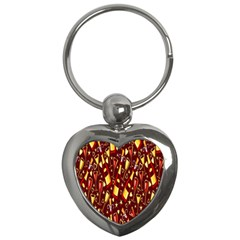 Wine Glass Drink Party Key Chains (Heart)