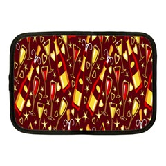 Wine Glass Drink Party Netbook Case (Medium)