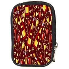 Wine Glass Drink Party Compact Camera Cases