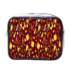 Wine Glass Drink Party Mini Toiletries Bags