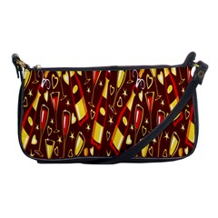 Wine Glass Drink Party Shoulder Clutch Bags