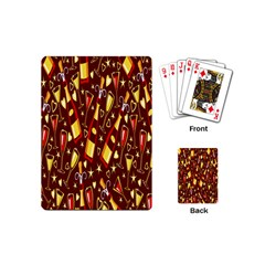Wine Glass Drink Party Playing Cards (Mini)