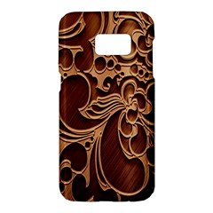 Tekstura Twigs Chocolate Color Samsung Galaxy S7 Hardshell Case