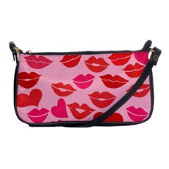 Valentine s Day Kisses Shoulder Clutch Bags