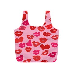 Valentine s Day Kisses Full Print Recycle Bags (s)
