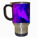 The Perfect Wave Pink Blue Red Cyan Travel Mugs (White) Left