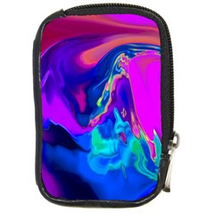The Perfect Wave Pink Blue Red Cyan Compact Camera Cases