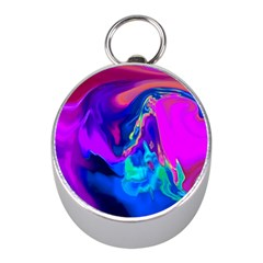 The Perfect Wave Pink Blue Red Cyan Mini Silver Compasses