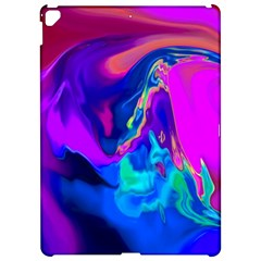The Perfect Wave Pink Blue Red Cyan Apple iPad Pro 12.9   Hardshell Case