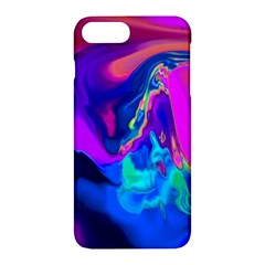 The Perfect Wave Pink Blue Red Cyan Apple Iphone 7 Plus Hardshell Case