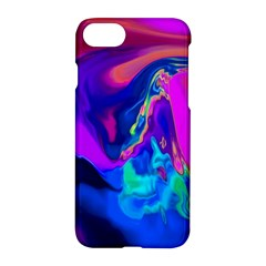 The Perfect Wave Pink Blue Red Cyan Apple Iphone 7 Hardshell Case