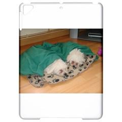 2 Sleepy Bichon Puppies Apple iPad Pro 9.7   Hardshell Case